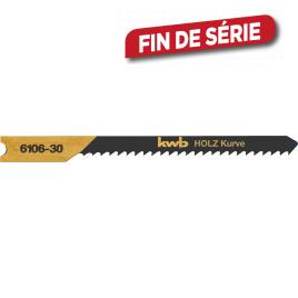 Lame de scie sauteuse dent à entailler spéciale 2 pièces - courbe 76 mm