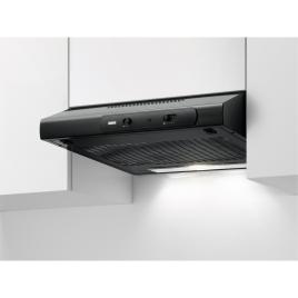 Hotte sous-encastrable LED 60 cm noire ZANUSSI