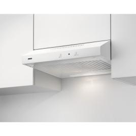 Hotte sous-encastrable LED 60 cm blanche ZANUSSI