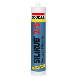 Silicone Silirub 2S Transparent 310 ml SOUDAL