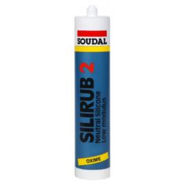Silicone Silirub 2 Gris 310 ml SOUDAL