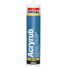Mastic Acryrub Blanc 310 ml SOUDAL