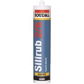 Silicone Silirub 2S Gris 310 ml SOUDAL