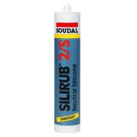 Silicone Silirub 2S Blanc 310 ml SOUDAL