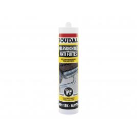 Mastic anti-fuites Transparent 290 ml SOUDAL