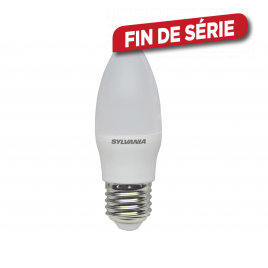 Ampoule LED flamme E27 5 W 470 lm blanc chaud SYLVANIA