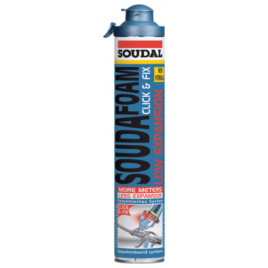 Mousse PU Low expansion Click & Fix 750 ml SOUDAL