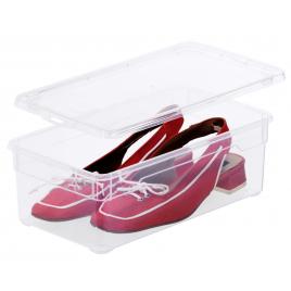 Boite de rangement pour chaussures 5 L 4 pièces