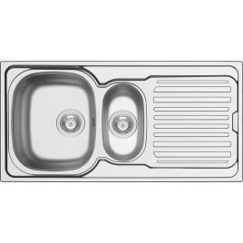 Évier de cuisine encastrable Hypero acier inoxydable 86 x 50 cm ISIFIX