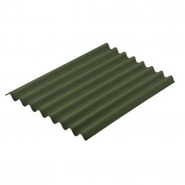 Plaque en tôle ondulée Topline 100 x 76 cm Vert AQUAPLAN