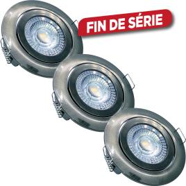 Spot encastrable LED 5 W 3 pièces ETHOS