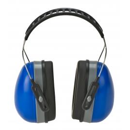 Casque anti-bruits professionnel, serre-tête flexible rembourré, ajustable
