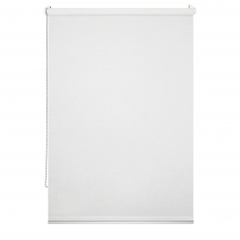Store enrouleur voile Easy Roll blanc 52 x 190 cm MADECO