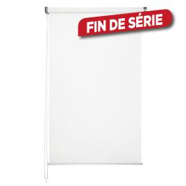 Store enrouleur voile blanc 140 x 250 cm MADECO