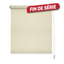Store enrouleur tamisant beige 150 x 190 cm MADECO