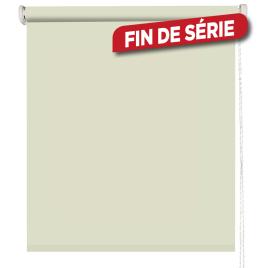 Store enrouleur occultant beige 60 x 160 cm MADECO