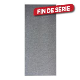 Kit de panneaux japonais gris 115 x 250 cm MADECO