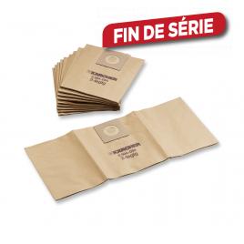 Sac en papier pour aspirateur NT 5 pièces KÄRCHER