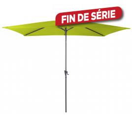 Parasol droit lemon avec manivelle 300 x 200 cm