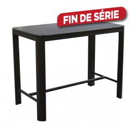 Table haute de jardin Eos graphite 140 x 74 x 105 cm