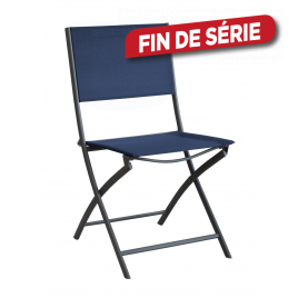 Chaise de jardin pliante Dream bleue