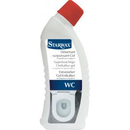 Détartrant surpuissant en gel pour toilette 0,75 L STARWAX