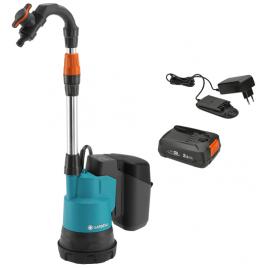 Pompe pour collecteur d'eau de pluie sur batterie 2000/2 18 V GARDENA