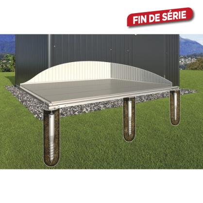 Fondation SmartBase pour mini garage 1,17 x 1,98 x 0,65 m BIOHORT