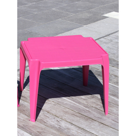 Table de jardin pour enfant fuschia