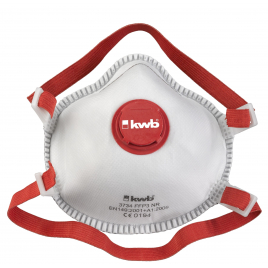 Masque de protection pour odeurs et poussières fines - FFP2, avec valve et filtre à charbon actif