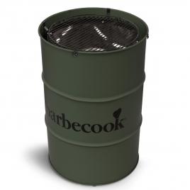 Barbecue au charbon Edson kaki BARBECOOK