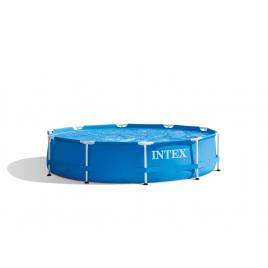 Piscine tubulaire Frame ronde avec pompe Ø 3,05 x 0,76 m INTEX