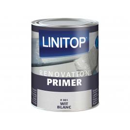Primer Renovation pour boiserie intérieure semi-opaque blanc 0,5 L LINITOP