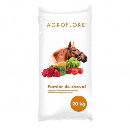 Palette 48 sacs Fumier de cheval 20 kg AGROFLORE (livraison à domicile)