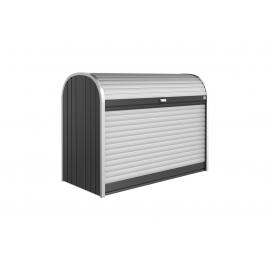 Box de rangement StoreMax 1,63 x 0,78 x 1,2 m gris foncé BIOHORT