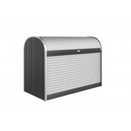 Box de rangement StoreMax 1,9 x 0,97 x 1,36 m gris foncé BIOHORT