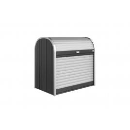 Box de rangement StoreMax 1,17 x 0,73 x 1,09 m gris foncé BIOHORT