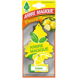 Désodorisant pour voiture citron ARBRE MAGIQUE