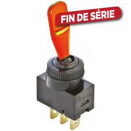 Interrupteur On/Off 12 V orange CARPOINT