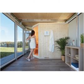Sauna ouverture de porte à gauche BIOHORT