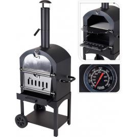 Barbecue au charbon pour pizza