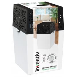 Absorbeur d'humidité avec recharge 2 x 0,5 kg INVENTIV