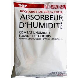 Recharge pour absorbeur d'humidité 0,8 kg 1ER