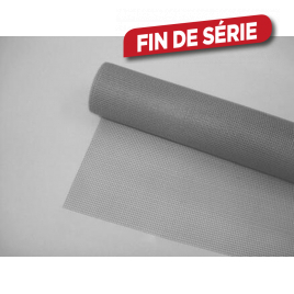 Toile moustiquaire gris 120 cm