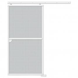 Porte moustiquaire coulissante blanc 240 x 120 cm CANDO