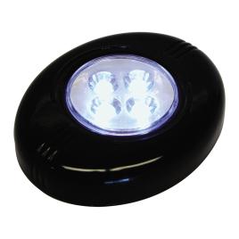 Lampe d'appoint intérieure LED noire CARPOINT