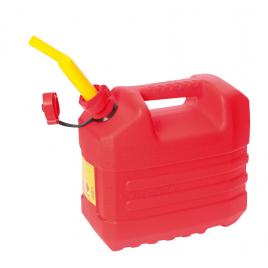 Jerrycan pour carburant rouge 10 L