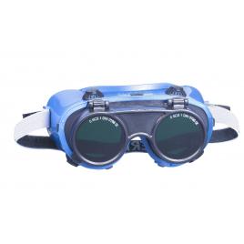 Lunettes de soudeur, pour porteurs de lunettes correctives, verres rabattables, pour classe de protection 5A