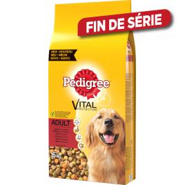 Sac de croquettes pour chien Vital Boeuf 15 kg PEDIGREE