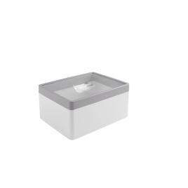 Boîte à provision Sigma home blanc et gris 3,3 L SUNWARE
